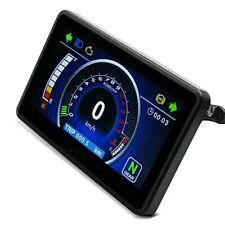 Motorrad Tachometer LCD Digital Drehzahlmesser Zaddox Tacho Hitech B-Ware