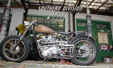 Triumph Krümmer scrambler oldschool highlevel pipes 70-6370 70-6372 E6370 2 left