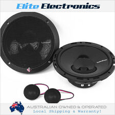 "ROCKFORD FOSGATE P165-SI PUNCH 6.5"" 60W RMS COMPONENT SPEAKERS EURO FIT CAR"