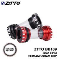 ZTTO BB109 MTB Road bike Bottom Brackets for Shimano 24mm SRAM 22mm GXP Crankset