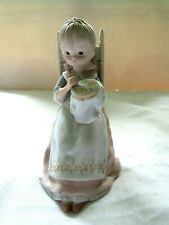 1982 Lefton Figurine Puseilla Twl03234 The Christopher Collection - Hand Painted