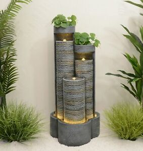 HYATT WATER FEATURE AMAZING OUTDOOR FOUNTAIN NEW SUMMER 2021 FAST DELIVERY