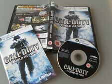 Call of Duty World at war COD 5  cod5 BRILLIANT WWII fps  PC game   VGC