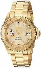 Invicta 22779 Men's Disney Limited Edition 40mm Automatic Champagne Dial Watch
