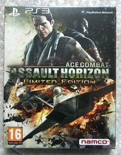 ACE COMBAT ASSAULT HORIZON  LIMITED EDITION PS3 SONY ESP EDITION PAL NUOVO