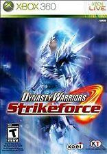 Dynasty Warriors: Strikeforce (Microsoft Xbox 360, 2010) -New