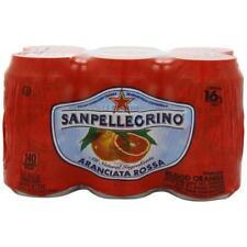 SAN PELLEGRINO-SPARKLING JUICE, BLOOD ORANGE (4-6/11.1FZ)