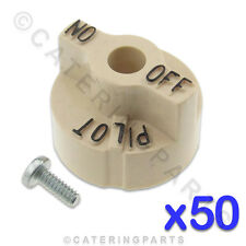 NEXT DAY 50 x ROBERTSHAW FRYER GAS VALVE KNOBS HENNY PENNY IMPERIAL PITCO FRYER
