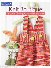Knitting Pattern Book KNIT BOUTIQUE ~ Children's Clothing, Accessories & +