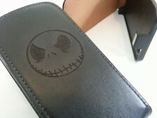 Samsung Galaxy S4 i9500 JACK SKELLINGTON flip phone case cover skull bones