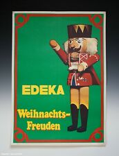 Plakat EDEKA Weihnachts-Freuden um 1965