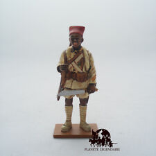 Figurine Del Prado soldat plomb Tirailleur Sénégalais France 1940 King & Country