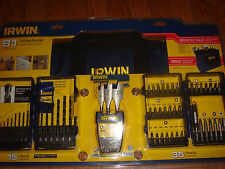 IRWIN  81 Piece Tool Accessory Kit with Contractor Bag