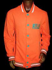 NEW YMCMB YOUNG MONEY men orange MULA! long Sleeve sweatshirt button cardigan *L