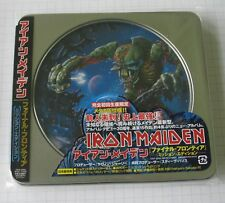 IRON MAIDEN - Final Frontier MISSION EDITION JAPAN CD NEU! TOCP-66966
