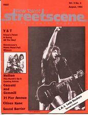 "1983 ""NEW TALENT STREETSCENE"" Music Magazine: ""L.A.'s LADY ROCKERS"" +"