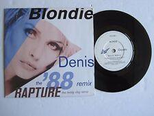 "BLONDIE - DENIS (THE '88 REMIX) - 7"" 45 rpm vinyl record"