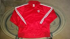 Beautiful Indiana Hoosiers Adidas zip-up jacket adult medium M (S9)