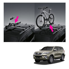 Right Roof Bar Rack Bicycle Holder Genuine Black For Toyota Fortuner 2015 2018