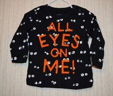 NWT Baby Gap Long-Sleeve All Eyes On Me Shirt 12-18 months Halloween boy/girl