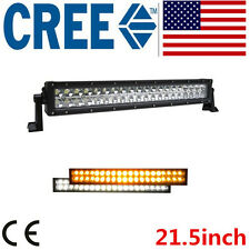 22 inch 120W Amber/White Strobe flash Led Light Bar Offroad ATV Truck cree 20 24