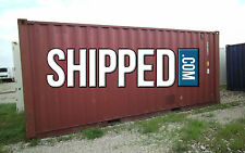 20 FT USED SHIPPING CONTAINER Home Storage, Construction, Shed in DENVER, CO