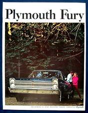 Prospekt brochure 1965 Plymouth Fury (USA)