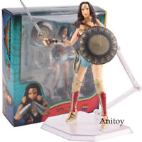 Justice League Wonder Woman MAFEX No 048 PVC Action Figure Collectible Model Toy