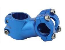 Blue Alloy 60mm 30 Deg Threadless Fixie Road Bike Bicycle 25.4 Handlebar Stem