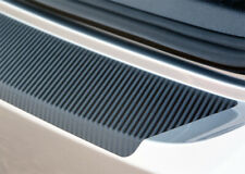 Ladekantenschutz für OPEL VECTRA C Caravan Schutzfolie Carbon Schwarz 3D 160µm