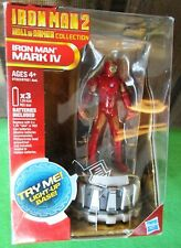 MARVEL IRON MAN 2 HALL OF ARMOR COLLECTION MARK IV-LIGHT-UP BASE-BRAND NEW -2010