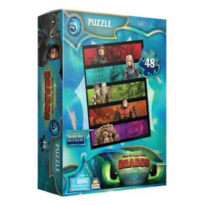 48pc Dreamworks How To Train Your Dragon Characters Kids Jigsaw Puzzle 3y+ Toy