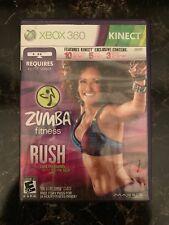 Zumba Fitness Rush (Microsoft Xbox 360, 2012) Complete