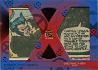 X-Men 2018 Fleer Ultra Comic Cut Panel card DC-UX120 Uncanny X-Men #120 26/36