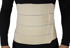 MB-2322NL 4-Panel Abdominal Binder, Belly Wrap Brace–Trimming (L: 34 – 38 in)