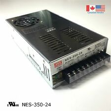 350W, 24V MEANWELL SWITCHING POWER SUPPLY NES-350-24