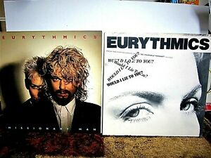 The Eurythmics 2 Lot Albums Excellent cond. Vinyl including VG/EX Sleeves LQQK!!