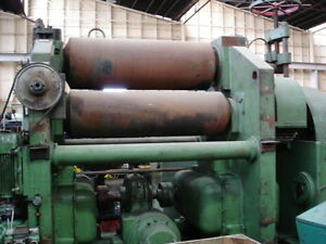 Plate Rolls Heavy duty 1200 mm x 60 mm Capacity.