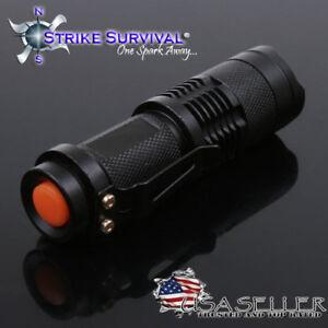 XM-L2 U2 LED Tactical Flashlight- 900 Lumens Max -New Version