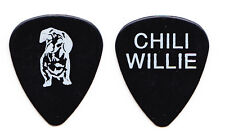 Lita Ford Chili Willie Dog Black Guitar Pick - 1991 Dangerous Curves Tour