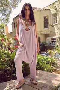Intimately Free People Eazzzy Romper Harem Oversized Endless Summer Purple XS