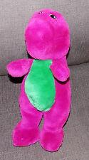 "VTG 1992 12"" tall PBS Barney the Purple Dinosaur Plush Doll Toy 90s Lyons"