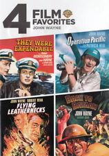 4 Film Favorites John Wayne War 0085391174233 DVD Region 1 P H