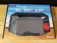 ION Plunge Floating Waterproof Boombox W/ Bluetooth Speaker