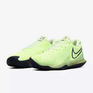 Nike Air Zoom Vapor Cage 4 HC Ghost Green. Men's Size 9. Tennis Shoes. NIB