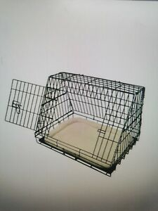"ELLIE BO 30"" DELUXE BLACK SLOPING PET CAGE BNIB"