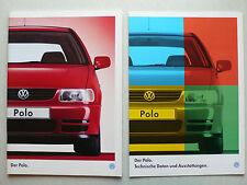 Prospekt Volkswagen VW Polo, 7.1995, 60 Seiten + technische Daten/Ausstattungen