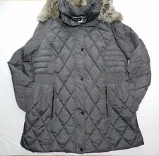 $220 new WOMENS gray puffer winter COAT JACKET = APT.9 = SIZE 1X =  gp12