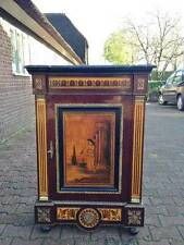 OLD CABINET /BUFFET IN LOUIS XVI DECORATED WITH A PAINTING - WORLDWIDE SHIPPING