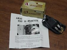 Akai Tape Head Demagnetizer Model AH-6 With The Original Box And Instructions